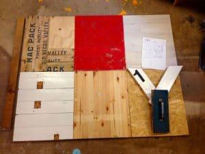 Scrap Wood Art Project