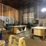 Construction of OBP Makerspace