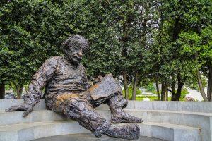 Art Statue of Albert Einstein