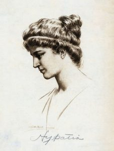 Picture of Hypatia Female Mathematician